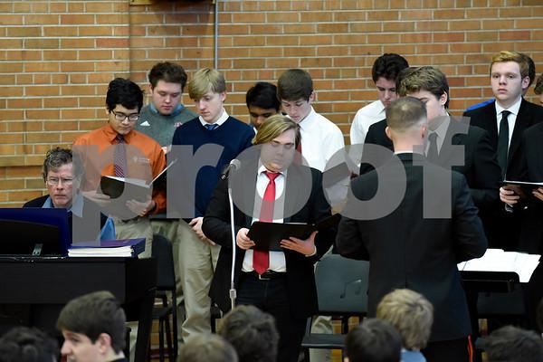 Catholic Schools Week Mass Candids 2-1-18