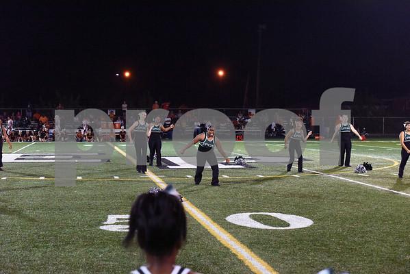 Homecoming Marching Band and Cheer 9-22-17