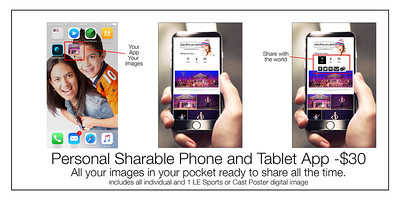 Personal Sharable Phone App $30