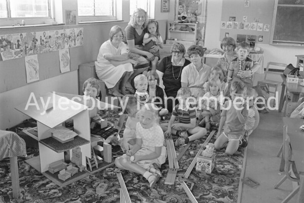 Abbey County Infant School playgroup, July 1983