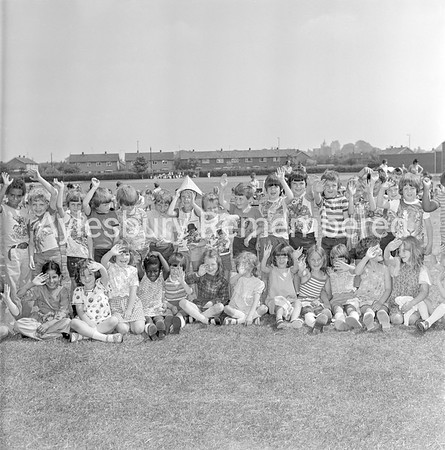 Abbey County Infant School sports, July 1977