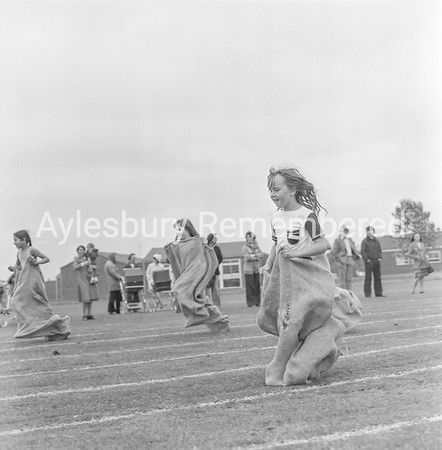 Abbey County Infant School sports, July 1978