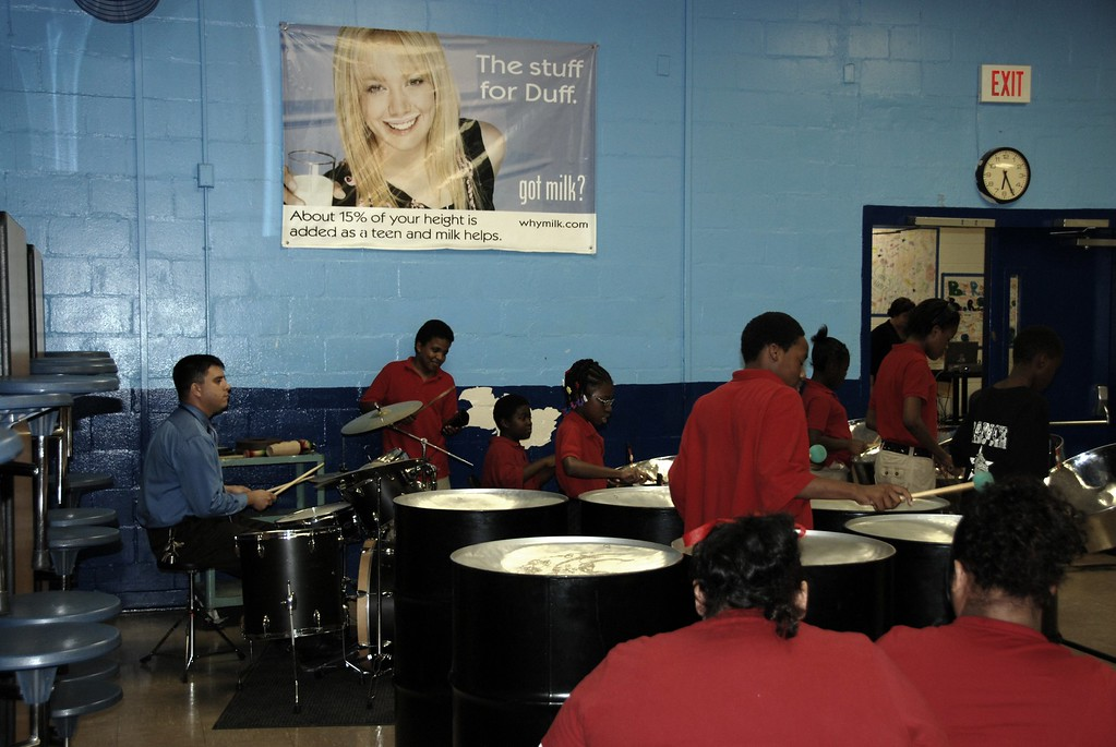 The Haut Gap Steel Drum Band