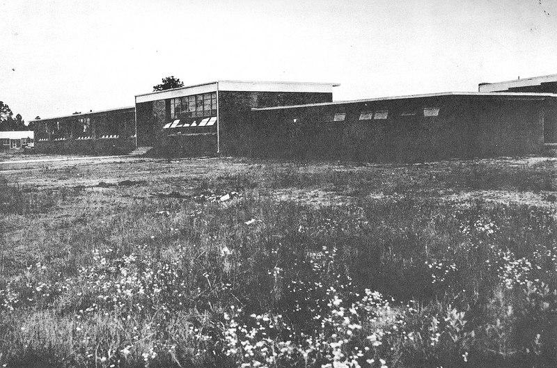 Nashville High and Elementary School, circa 1955