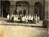 Alapaha School about 1920-1921, probably the first or second grades. Eloise Margaret Williams Johnson is believed to be one of the students in the photo.