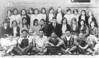 "Alapaha High School, 1931, 9th and 10th grades combined. 10th grade was as high as a student could go. If you finished school, you had to go to Nashville School. Several did just that.<br /> Bottom row, left to right: Irvine Shearer, Julian Rowe, Winford Chambless, Wilson Brogdon, Garthel Vickers, Ralph Sizemore, Virgle Jones.<br /> Middle row, left to right: Margaret McMillan, Sidney Price, Orene Kelly, Othell Hays, Martha McMillan, Teacher C. C. Hall, Inez Daniels, Christine Griffin, Alene Shearer, Allie McMillan.<br /> Top row, left to right: MaryLee Cribb, Alsteen Chambless, ____________, ___________, Helen Chambless, Florie Moore, Elizabeth Barrineau, RoseLee Jernigan, Agnes Moore, Florence Mobley, __________, Marjorie Maddox.<br /> <br /> This photo also appeared in the Down Memory Lane column of The Berrien Press on November 23, 1967.  The cutline read as follows:<br /> ""From the collection of Mrs. C.W. Brogdon of Nashville comes this 1931 Alapaha High School group for a trip Down Memory Lane with The Berrien Press.  Left to right, are:  Front, Irvin Shearer, Julian Rowe, Winfred Chambless, Wilson Brogdon, Garthel Vickers, Ralph Sizemore, Virgil Jones; second row, Gene McMillan, Sidney Price, Orene Kelly, Othelle Hayes, Martha McMillan, Principal C.C. Hall, Inez Daniels, Christine Griffin, Frances Shearer, Allie McMillan; back row, Ouida Griner, Alstine Chambless, Mattie Harper, Mary Lue Cribb, Helen Chambless, Florrie Moore, Elizabeth Barrineau, Rosalee Jernigan, Agnes Moore, Florence Mobley, Grace Thornton and Margie Maddox."