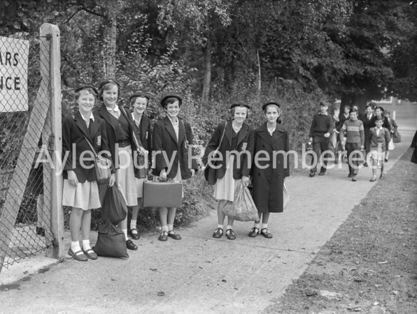 High School on first day, Sep 8th 1959
