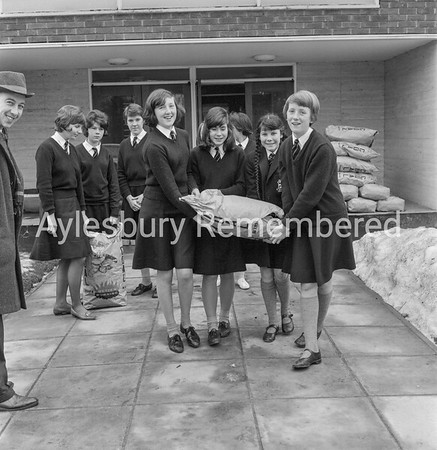 Coal for Aylesbury High School, Feb 1963