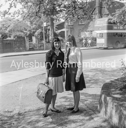 Girls of Aylesbury High School, May 1965