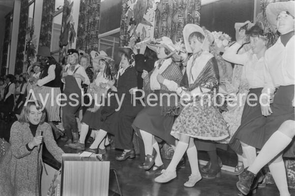 Party at Aylesbury High School, Dec 1978