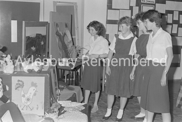 High School Art & Craft Exhibition, July 1983