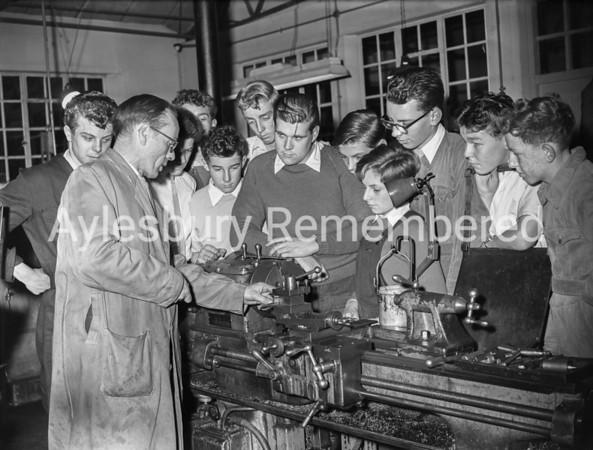 Technical School evening class, Oct 6 1958