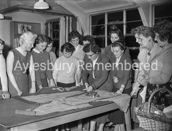 Aylesbury Technical School Evening Class, Oct 6th 1958