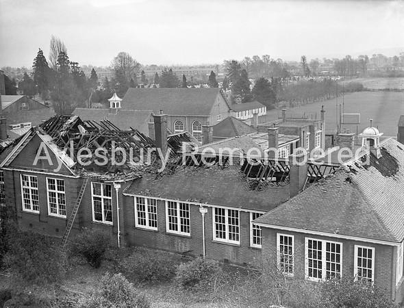 Grammar School fire, Nov 26th 1953