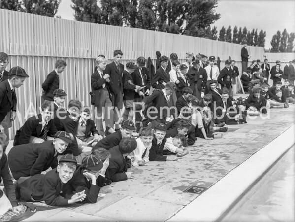 Grammar School Swimming Gala, July 24th 1958