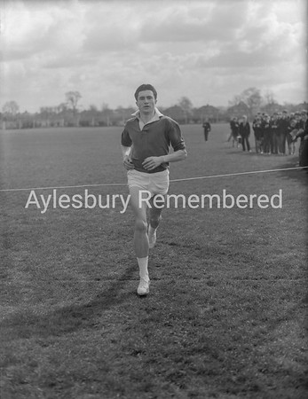Aylesbury Grammar School cross country run, Apr 1st 1960