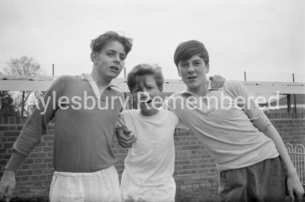 Grammar School cross country run, c1966