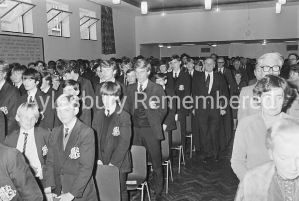 Grammar School prize giving, Oct 1984