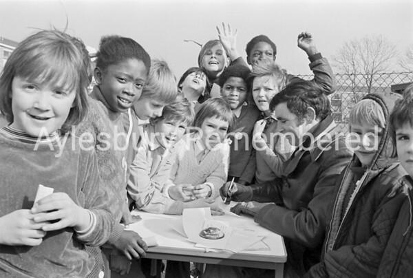 Bearbrook School sponsored walk, March 1976