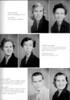 BHS Seniors, 1958, page 12: Barbara Moore, Jan Moore, Sandra Jane Morris, Norma Jean Nash, Dorian Osborne, Amelia Perry.