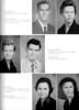 BHS Seniors, 1958, page 8: Charles Heaton, Betty Lou Hendley, Carolyn Hendley, Wayne Hinson, Louise Hogan, Christine Holley.