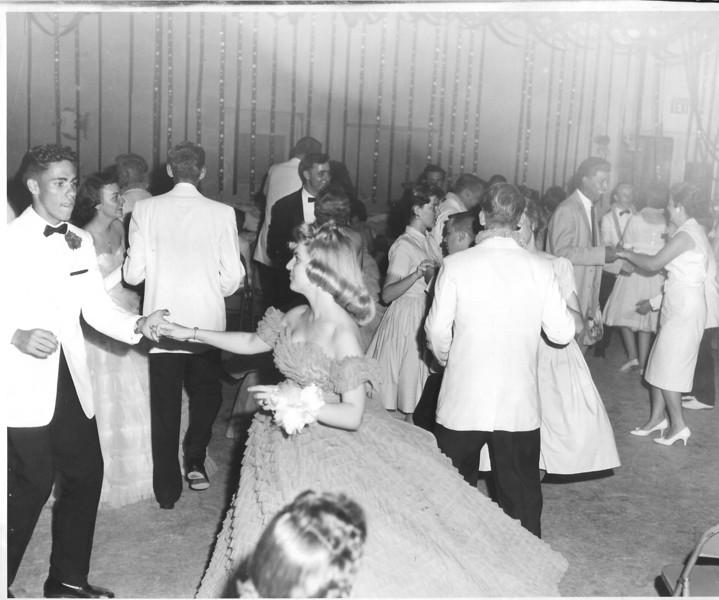 Junior Senior Prom, Berrien High School, circa early 1960's