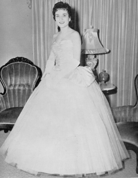 BHS 1961 Miss B.H.S. Kitty Brown.
