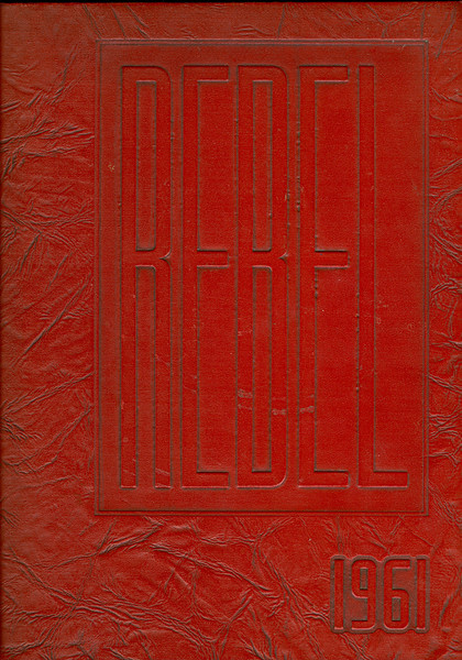 """Berrien High School 1960-61 Yearbook. This yearbook is larger than any other BHS Yearbook, measuring 9"""" x 12"""" in size."""