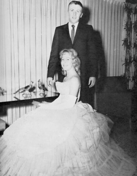 BHS 1961 Wittiest Anne Greene and Forrest Norton.