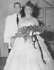 "Miss Norma Gaye Moore, a lovely Southern belle, reigned as ""Queen of the Junior-Senior Prom."" Her escort for the evening was Jimmy Gaskins."