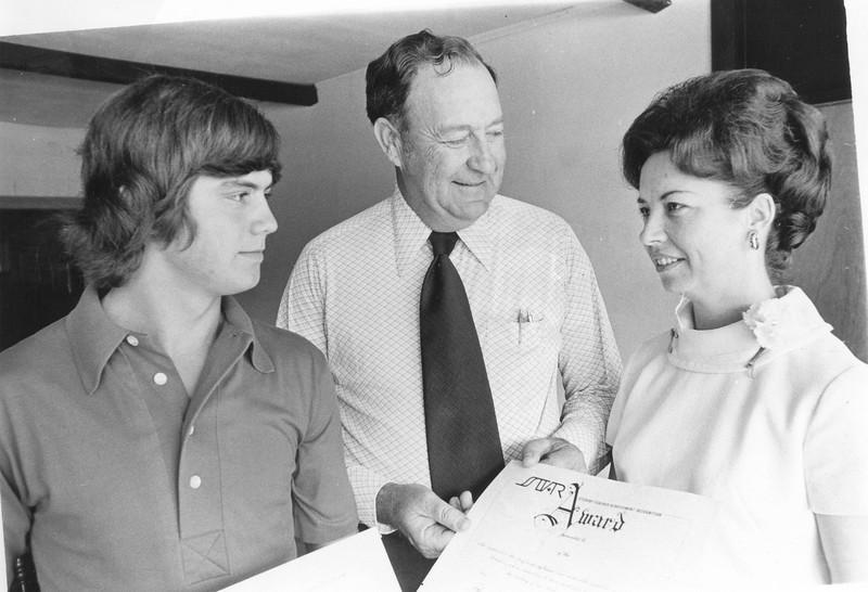 1973 BHS STAR Student and STAR Teacher