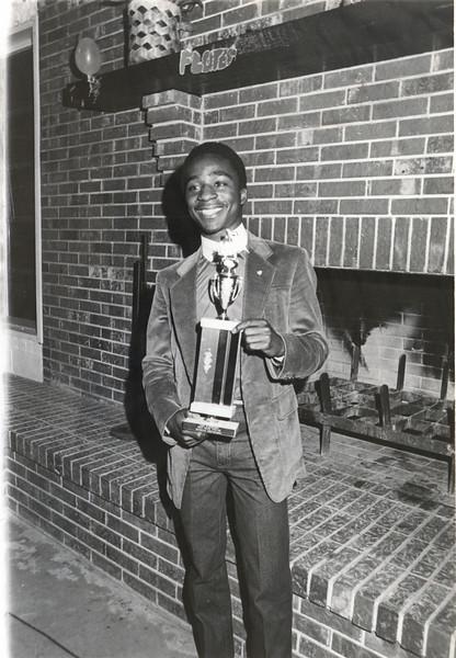 1983 May - Leon Richardson BHS Drum Major