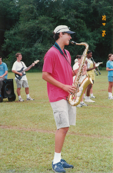 2000 Aug BHS Band Camp Alex Brown