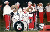 1997-98 BHS Band Percussionists halftime
