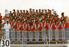 1982 Marching Rebel Band at Mitchell-Baker game