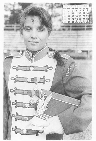 1989 October Calendar Girl Chris Maestri