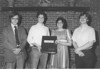 1983 May - BHS Band Banquet - Scrapbook Dedication