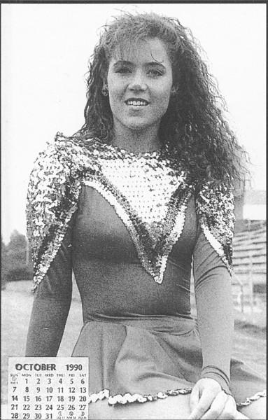 1990 October Calendar Girl Robin Tucker