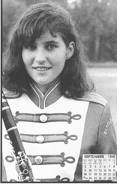 1990 September Calendar Girl Mary Brubaker