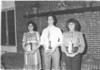 1983 May - BHS Band Banquet - Band Officers