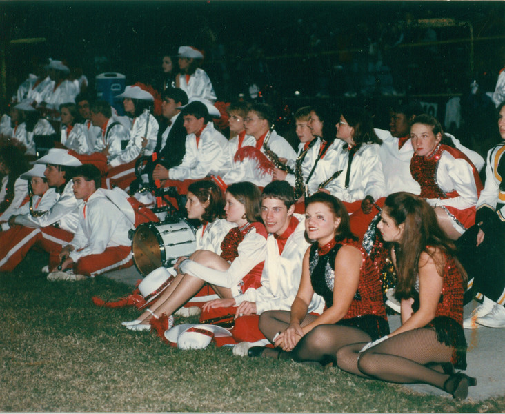 1997-98 BHS Band candid