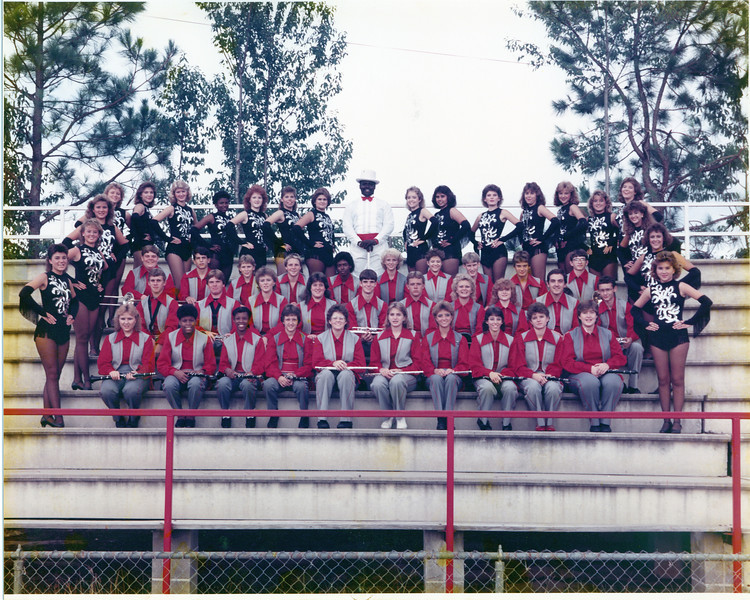 1986 Marching Rebel Band