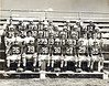 1955-56  Berrien High Football Team. Front row, left to right: Joe Peach, Raymond Jones, Fayne Outlaw, Jerry Eason, Carlton Garner, Robert E. Griffin, Joe Dixon.<br /> Second row, left to right: Coach Logan, Coach Gutierrez, Thomas Pace, S.B. Griner, James Whidden, Weymen Vickers, Coach Renfroe, Coach Powell. <br /> Third row, left to right: Tommy Bradford, Jerry Dryder, Owen Williams, Emory Jenrette, Eugene Harris, Jack Skinner, Lamar Gray, Junior Chapman, Daryel Ogletree.<br /> Back row, left to right: Manager Emerson Nix, Donald Ford, Bobby Vickers, William B. Allen, Henry Futch, Ray Chambers, Russell Tittle, Jimmy Powell.