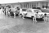 Freshman-Sophomore Car Wash at BHS, April 1970