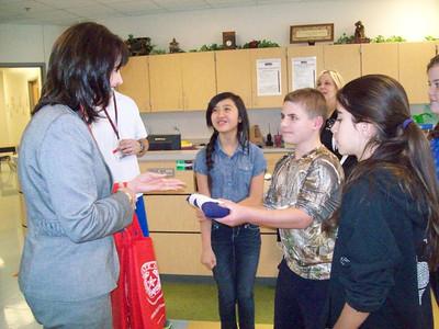 Binion Elementary Flag Presentation
