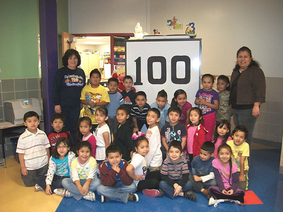 Binion Elementary's 100th Day of School