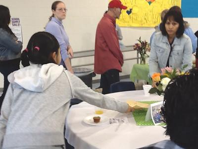 Binion Elementary's Volunteer Appreciation Breakfast