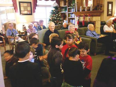 Binion Elementary's Prekindergarten Caroling