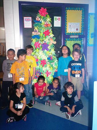 Binion Elementary Holiday Doors 2012
