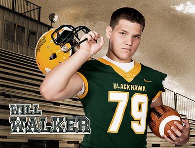 Walker 48x36 Field Banner